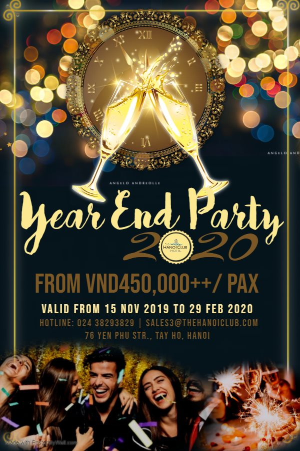 Year End Party Promotion 2019